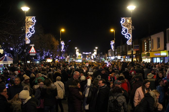 Thousands are again set to attend the spectacular Christmas Lights Switch On Christmas Market and YouNG market in West Bridgford