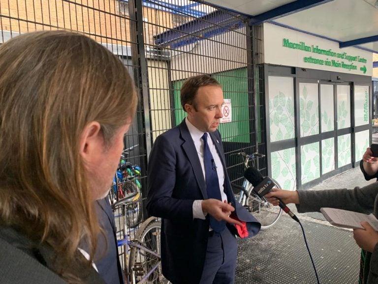 Health Secretary Matt Hancock claims QMC will be rebuilt 'within a decade'