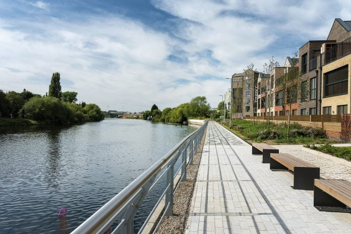 Stunning views from Trent Basins waterside homes