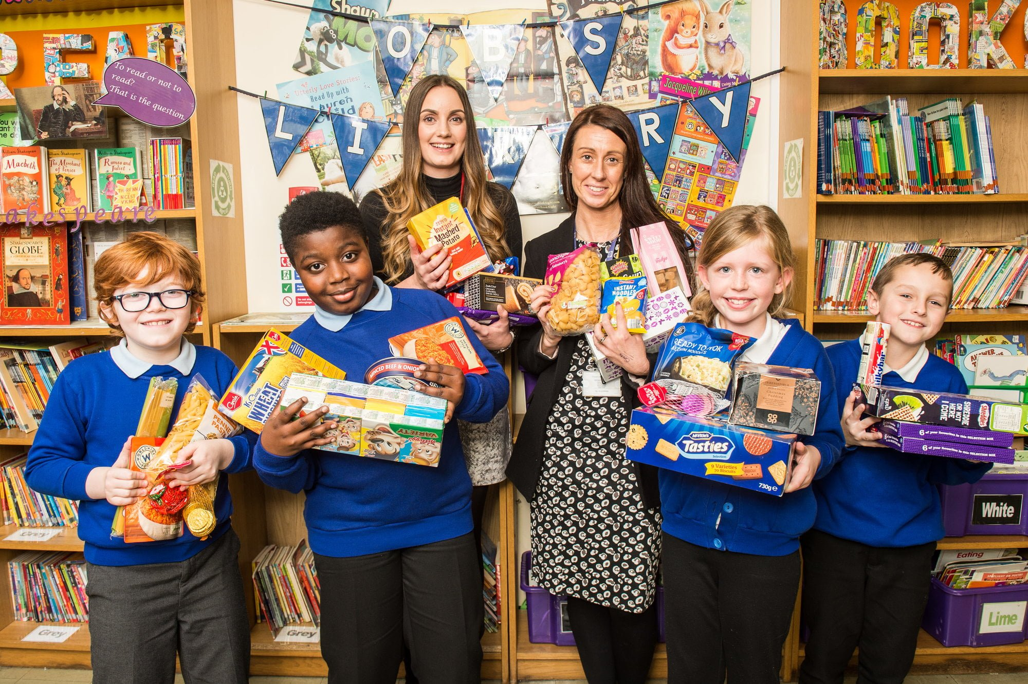 The Cornerhouse Hosts Its Own Food Bank In Nottingham West