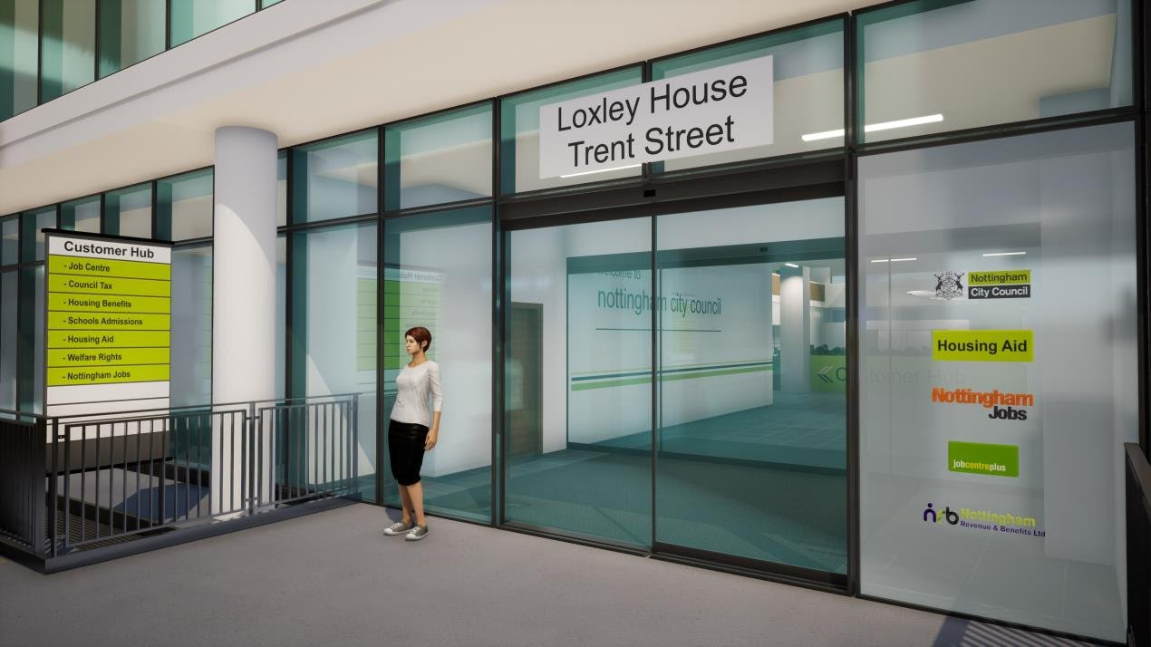 Council announces new one-stop shop Customer Hub to open in Nottingham