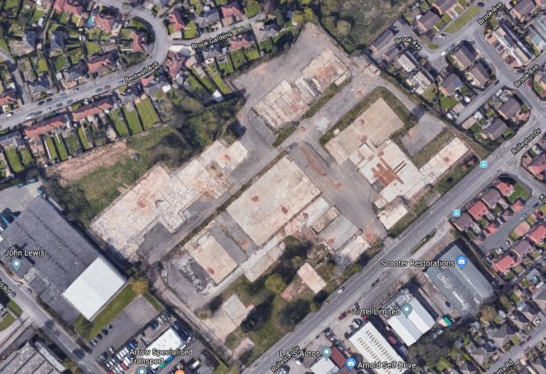 Fire-damaged land in Arnold to have 140 homes built on it