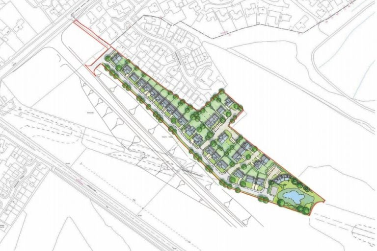 46 new homes to be built next to Chase Farm development