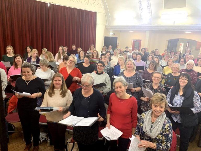 West Bridgford Liberty Singers celebrate second birthday