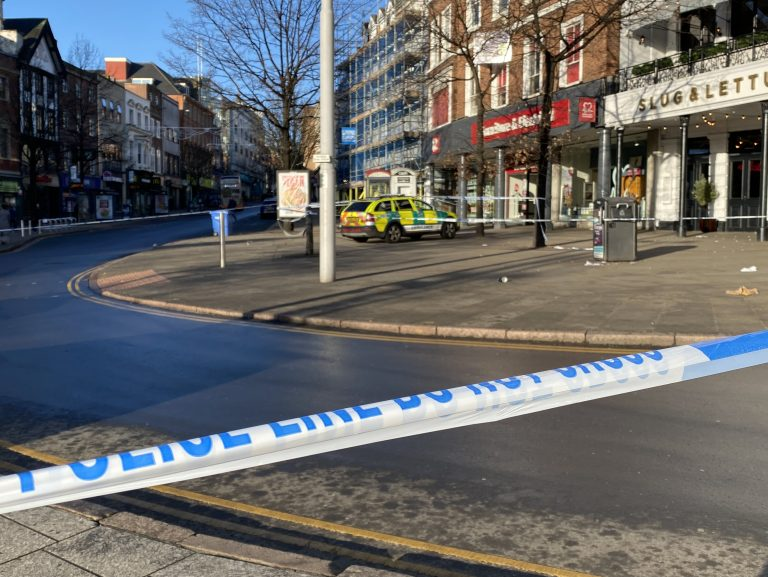 Man in critical condition after serious assault in Nottingham City centre