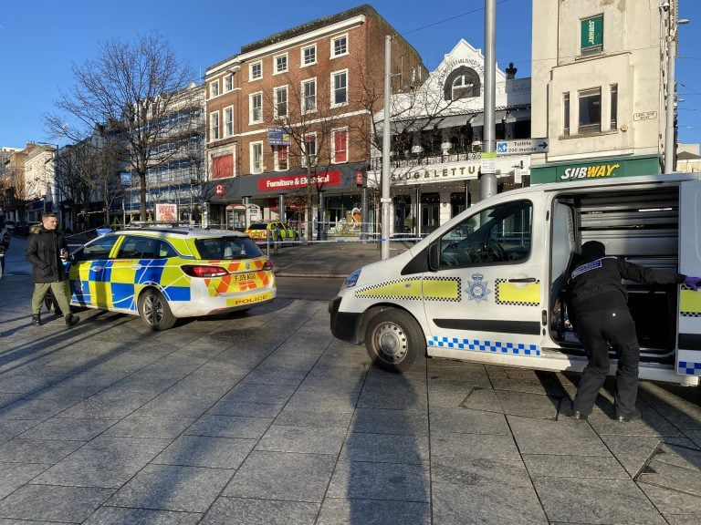 Pictures: Investigation continues after Nottingham serious assault