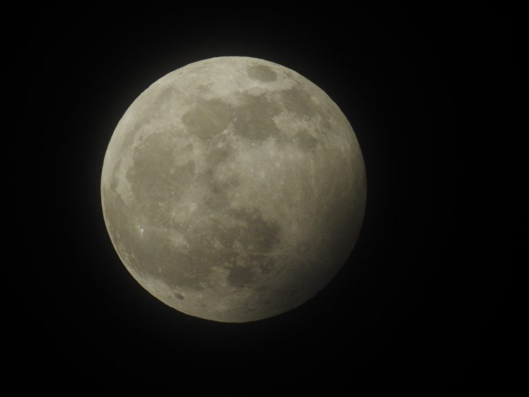 Pictures: Tonight's Wolf Moon and Penumbral Eclipse from West Bridgford