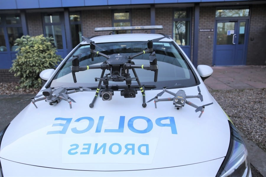 police drones