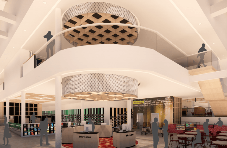 Revealed in Pictures: Impressive new plans for Nottingham Central Library