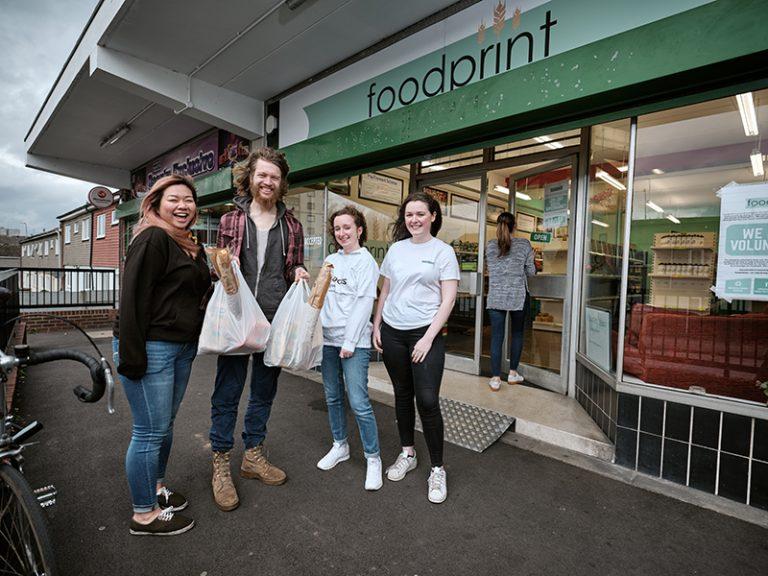 Pictures: Nottingham student-led food surplus supermarket wins global impact award