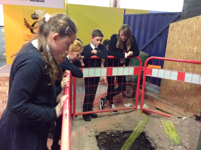 Gotham pupils learn life skills at Leicester 'Warning Zone' educational centre