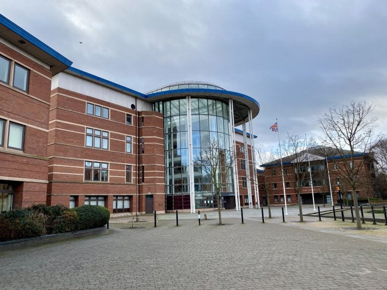Motorcyclist charged with possession of knife in Nottingham