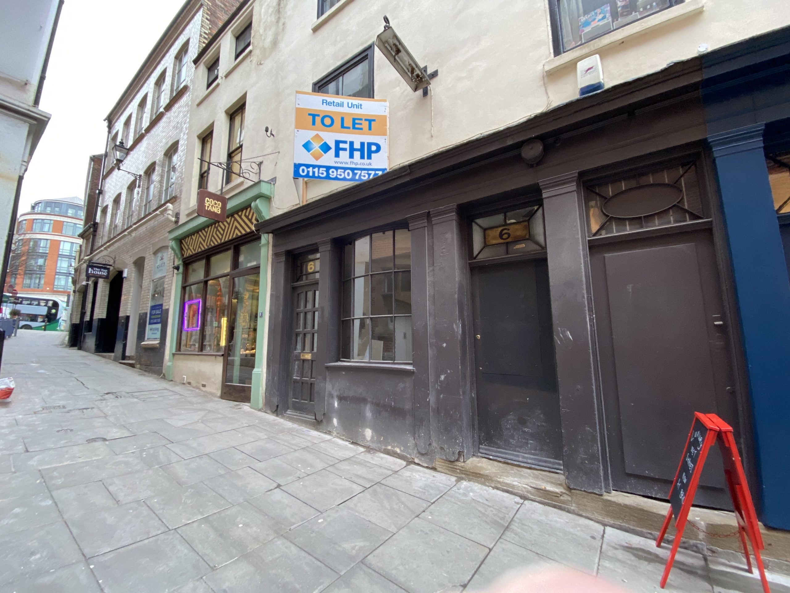 Nottingham city empty businesses