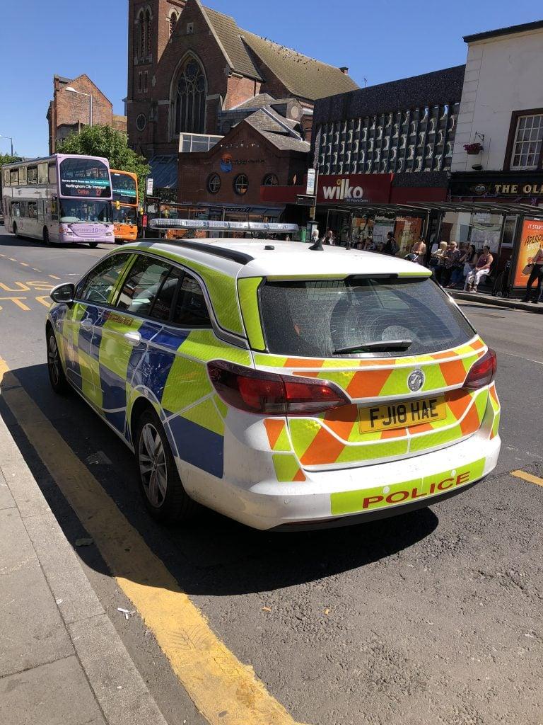 CCTV released in Nottingham city centre disorder appeal