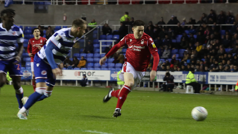 Match report: Late show but all ends square – Reading 1 – 1 Nottingham Forest