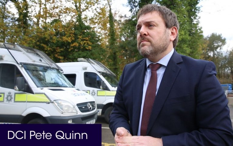 Notts Police DCI Pete Quinn talks about indecent images offences after man sentenced