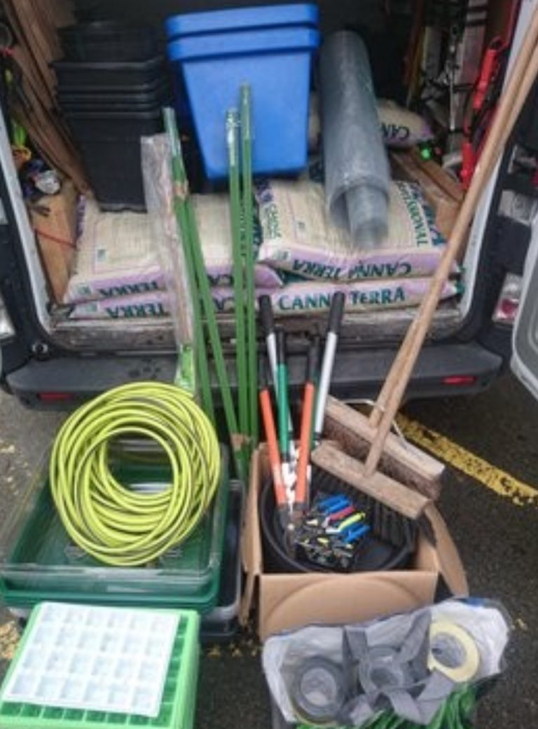 Equipment confiscated from drug crime donated to Nottingham city farm