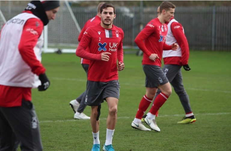 Pictures: Forest prepare for Luton clash at The City Ground