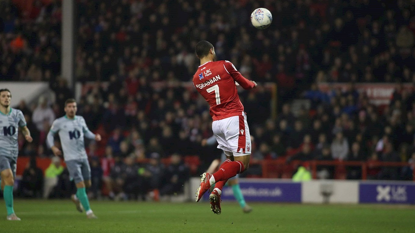 lewis grabban heads in number three for forest and number two for himself.