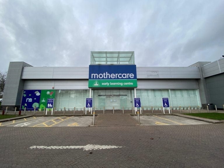 All Mothercare stores to close for good on Sunday