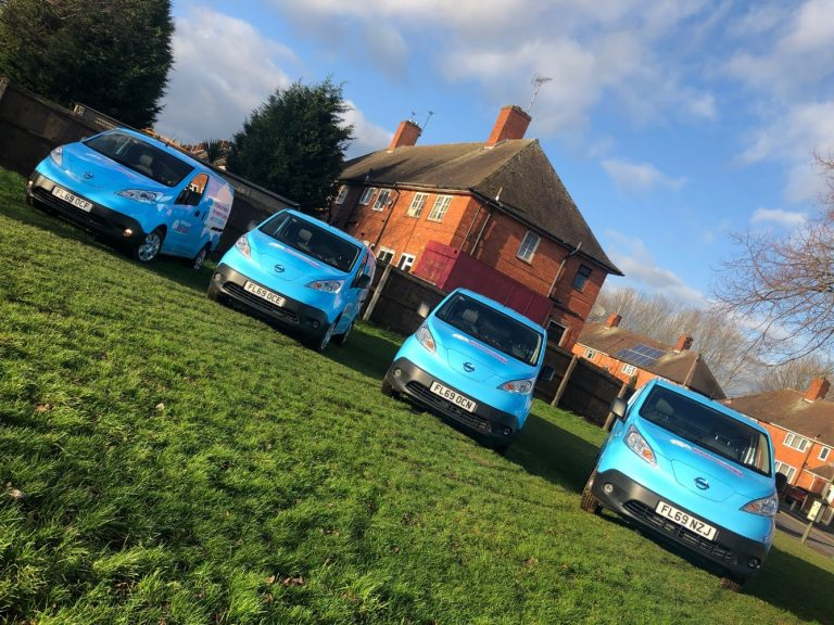 Nottingham City Homes launches £96,000 green vehicle fleet