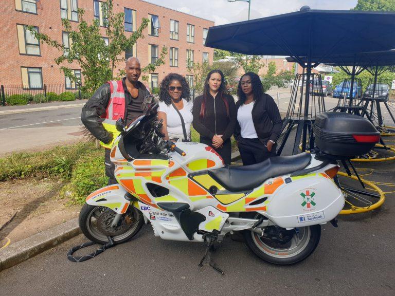 Over £9k raised for charity Nottinghamshire Blood Bikes