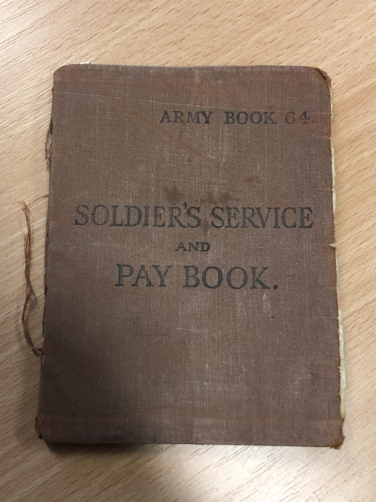 Does this Soldier's Service and Pay Book belong to your relative?
