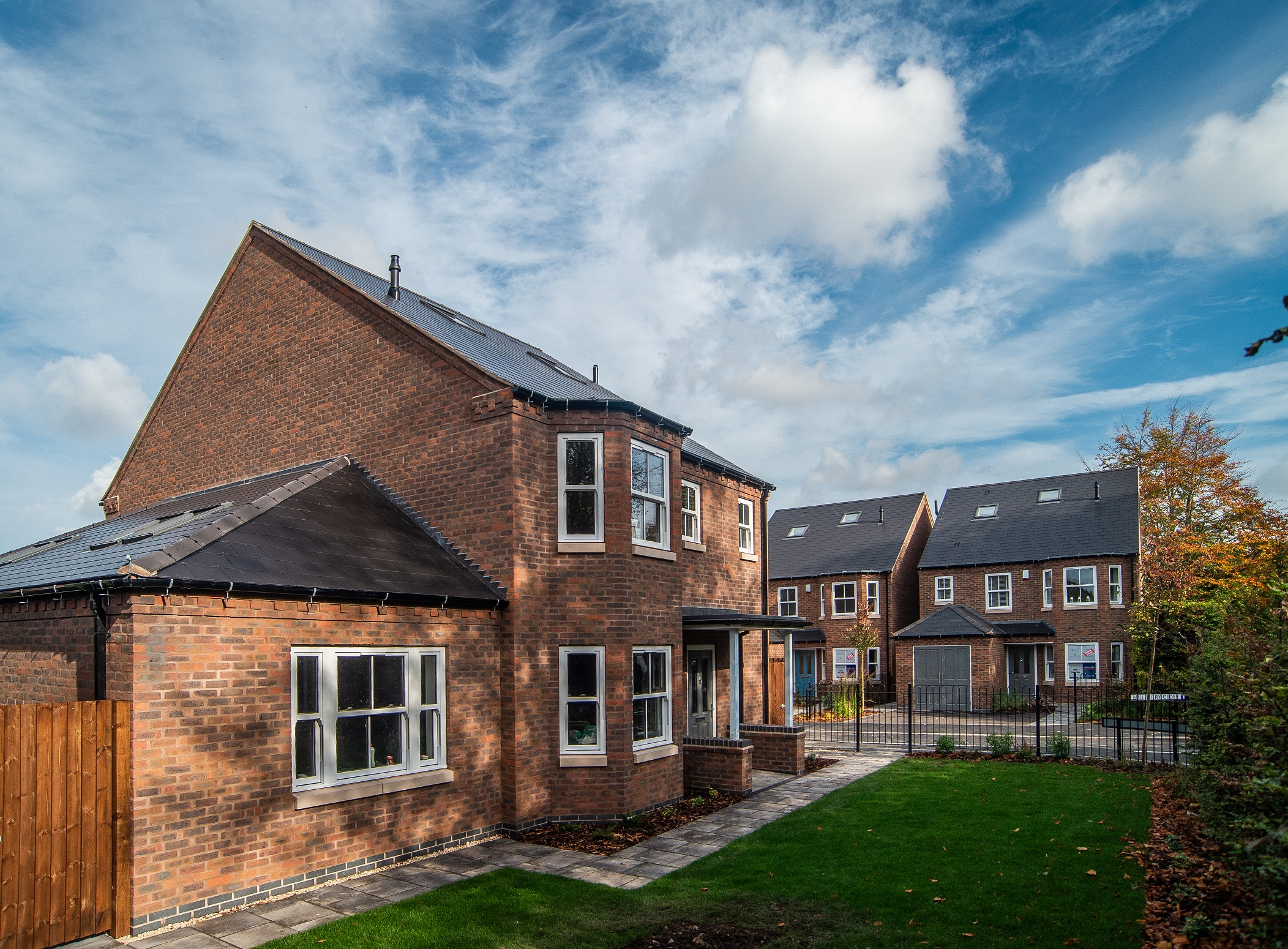 All homes at Mulberry Close have now sold
