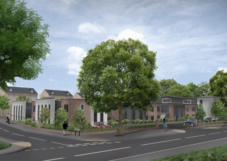Work starts to transform former Bingham police station into care home