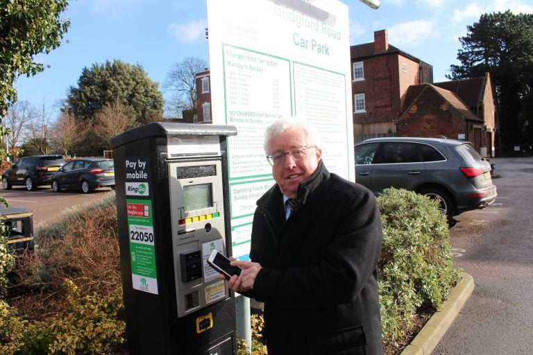 Rushcliffe car parking charges set to be frozen for a third year