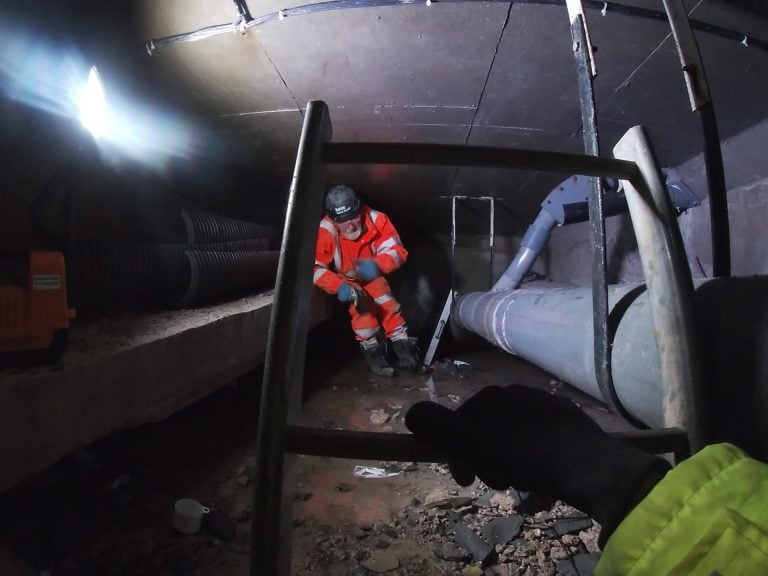 Video footage shows challenges of repairing A52 Clifton Bridge in Nottingham