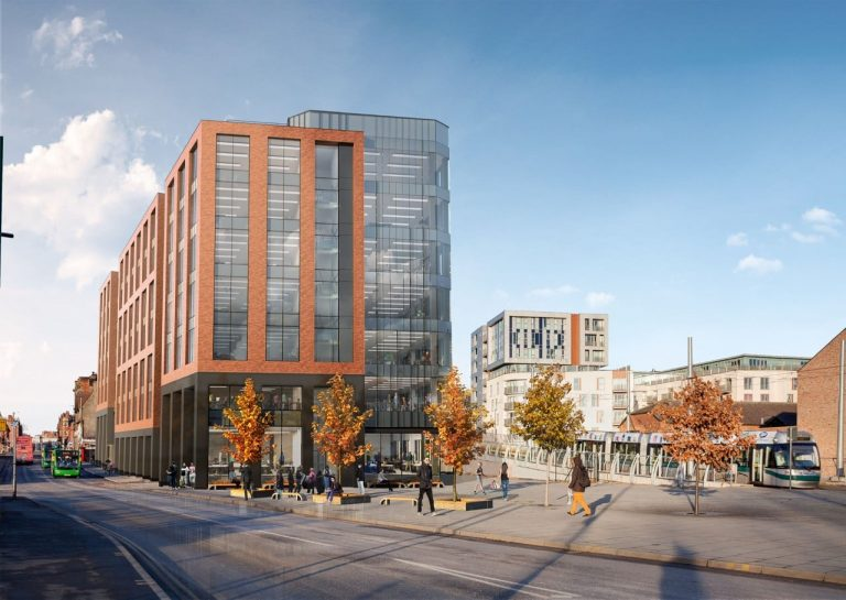 Preparations begin for Nottingham Grade A office space construction