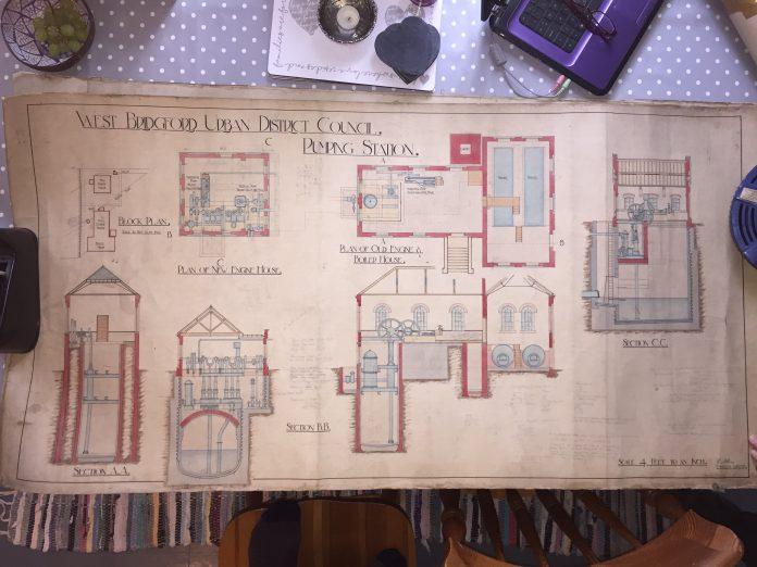 Drawing Pumping Station