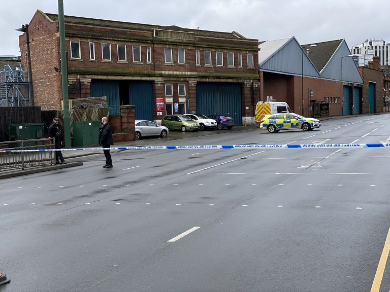 Controlled explosion carried out in Nottingham suspicious package incident