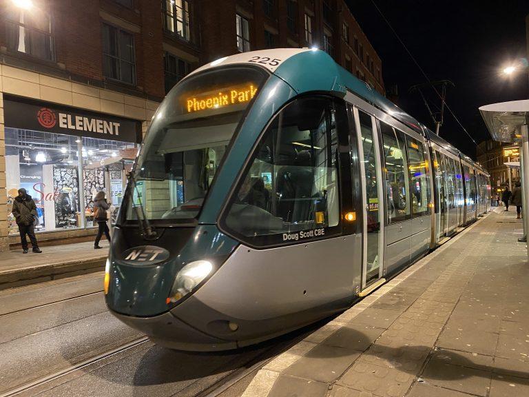 Nottingham tram network first in UK to receive international standard