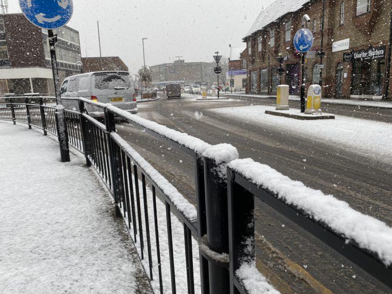 Warning for rain, snow and freezing rain across the region