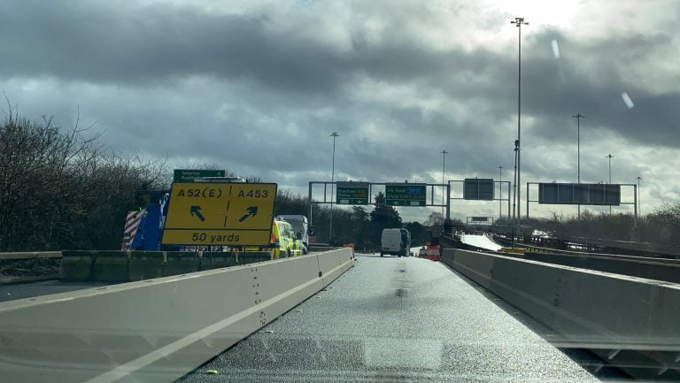 Pictures and Video: A52 Clifton Bridge | Route with one lane reopened [ from 13th February ]