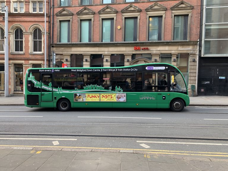 You can now check how many people are on NCT buses in Nottingham