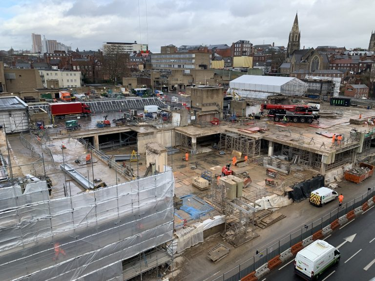 Pictures: Views from the air of Nottingham's Broadmarsh development