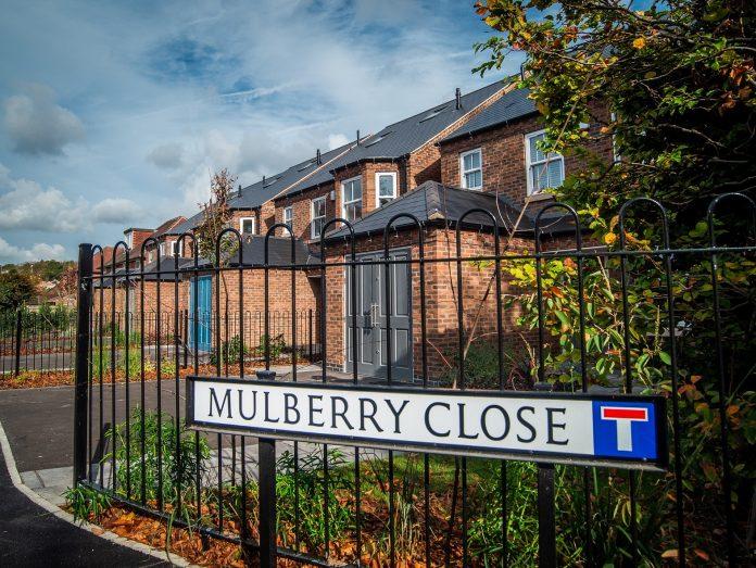 Mulberry Close in Beeston