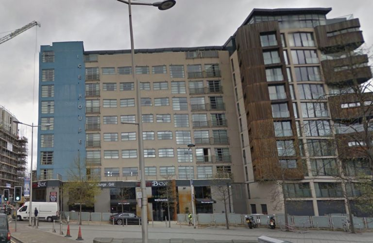 Bottle thrown from 8th floor of Nottingham apartment block onto ice-hockey fans