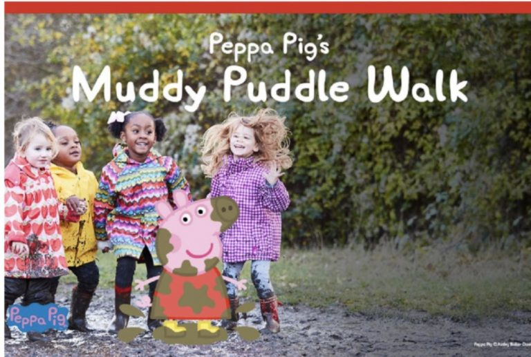 Peppa Pig's Muddy Puddle Walk returns to Rushcliffe Country Park