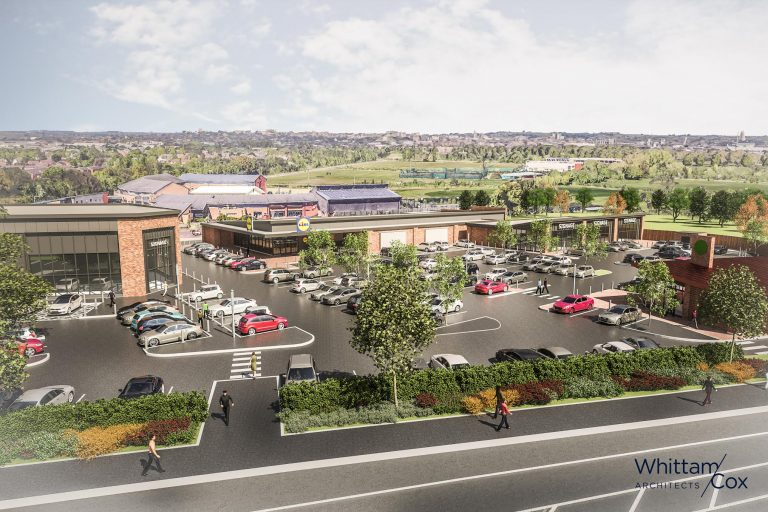 West Bridgford Lidl development gets the go-ahead – includes Starbucks drive-thru, three shops and a gym