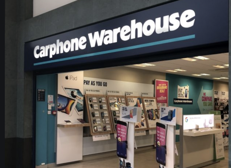 Carphone Warehouse to close all 531 stores with loss of 2,900 jobs