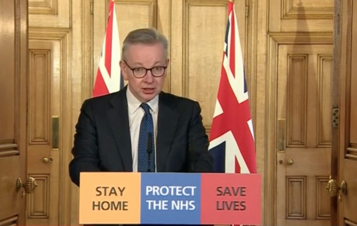 Coronavirus live updates: Daily briefing from Downing Street 31 March