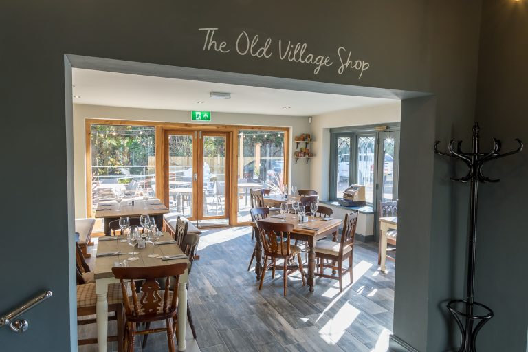 Pictures: Stuart Broad converts pub's 'Old Village Shop' dining area to former glory to save jobs at the business
