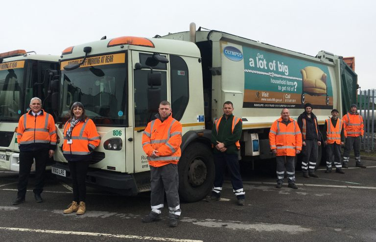 Rushcliffe: Please leave your bins out at 6:30 am to help waste crews