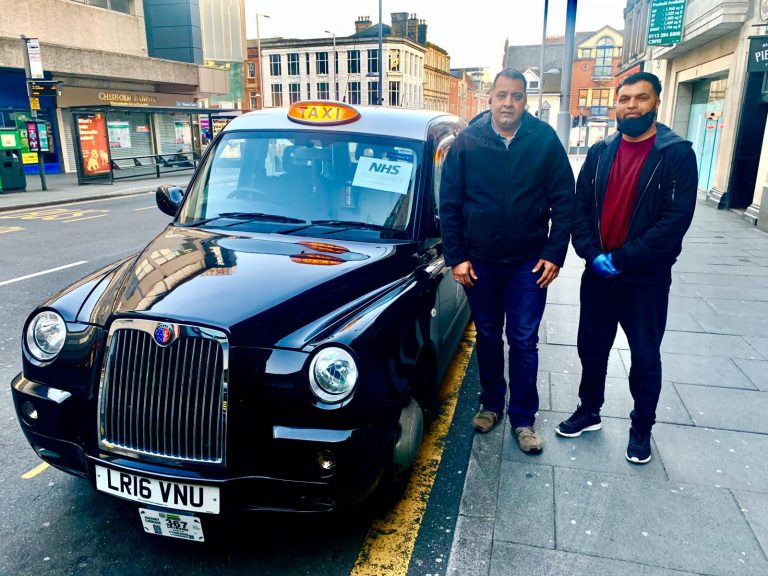 Nottingham taxi drivers offer free journeys to NHS workers