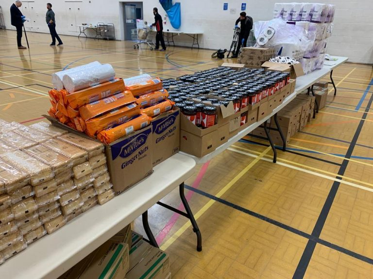 Pictures: Behind the scenes of Nottingham effort to get food and supplies to residents