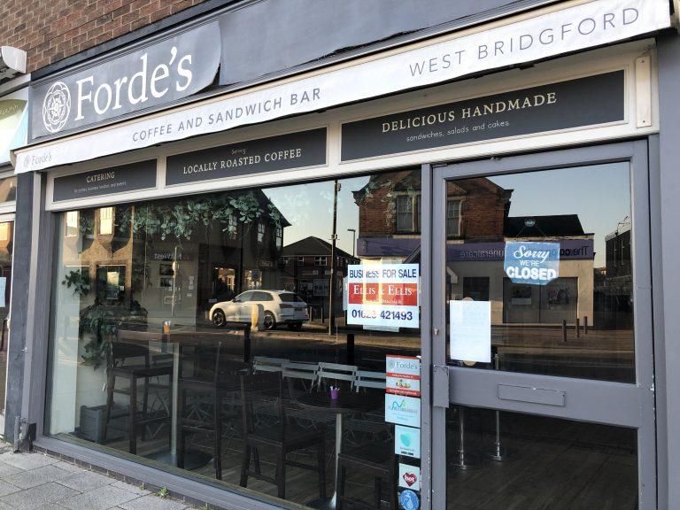 Popular West Bridgford cafe up for sale